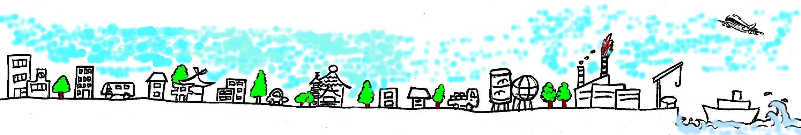 川崎の街並